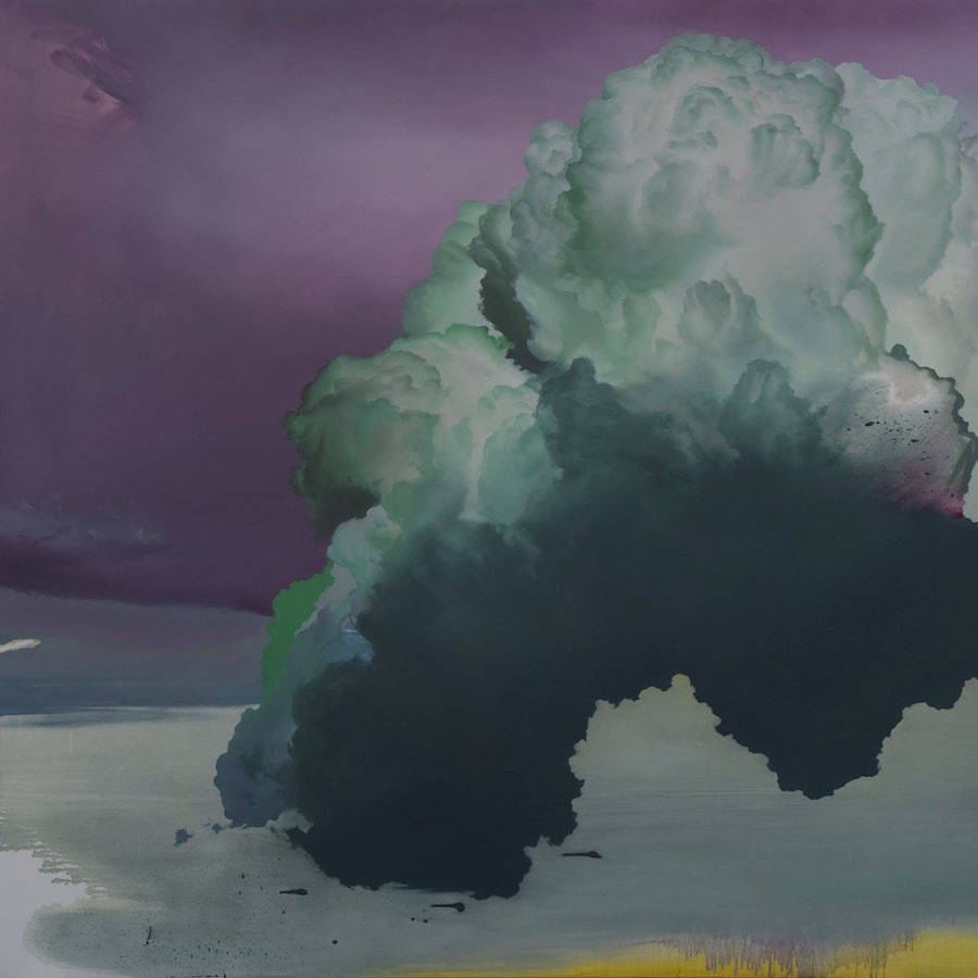 Delicate Paintings of Clouds