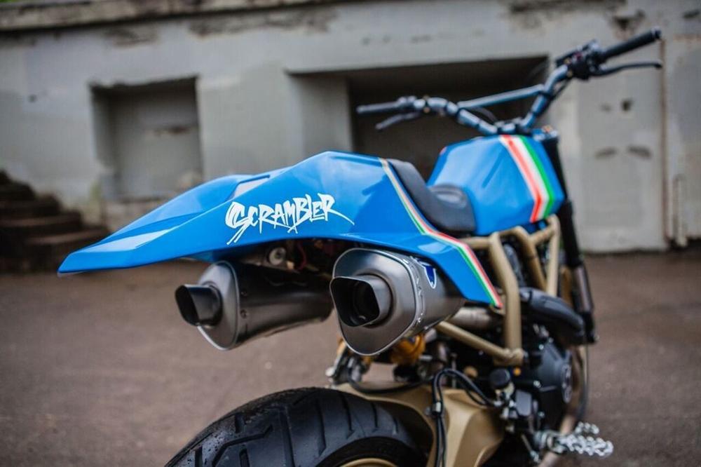 Грим х Marin Speed Shop: кастом Ducati Scrambler Icon