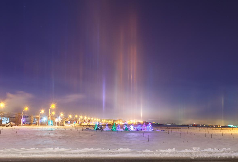 Световые столбы Саратов фото 9