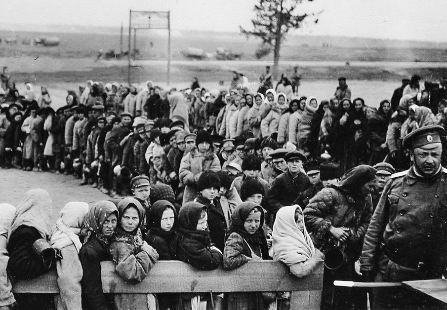 Беженцы 1915 года в Бобруйске