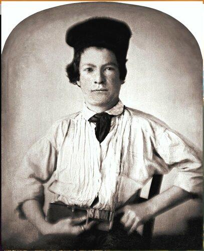 Марк Твен. Mark Twain by GH Jones, 1850- retouched.jpg