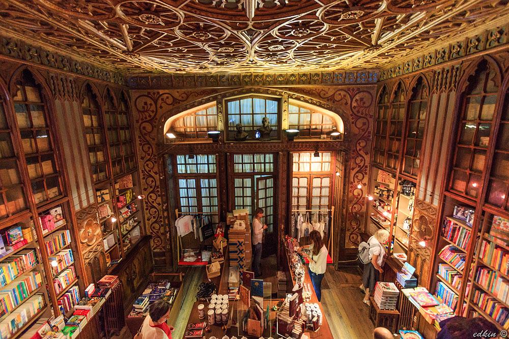 Библиотека Гарри Поттера, Порто,  Livraria Lello & Irmao