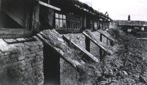 Полевой подвижный госпиталь No. 75. Больничные строения