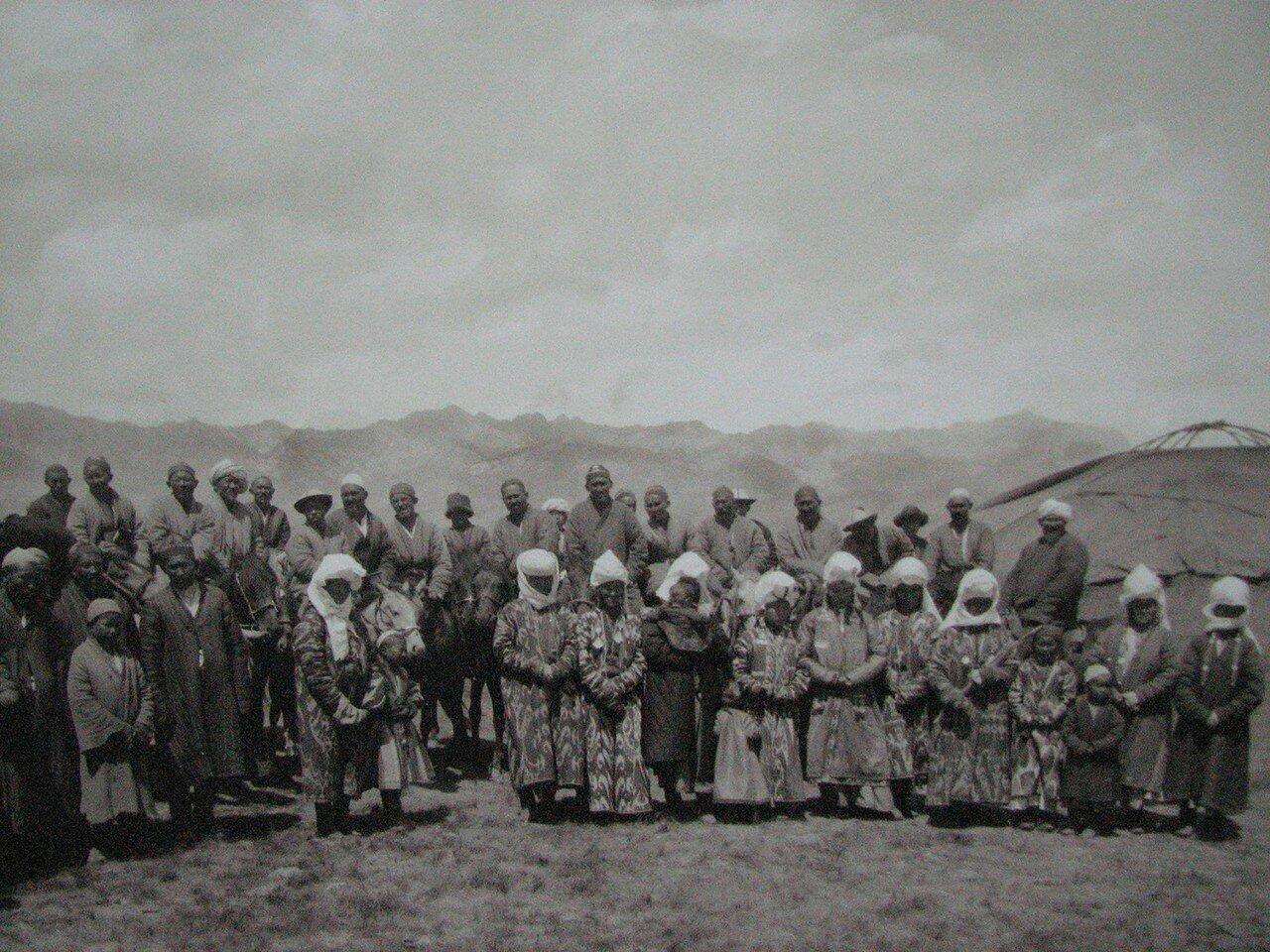 Алайские киргизы