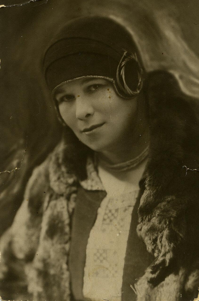 1928. Лидия Савельевна Лясс, Москва