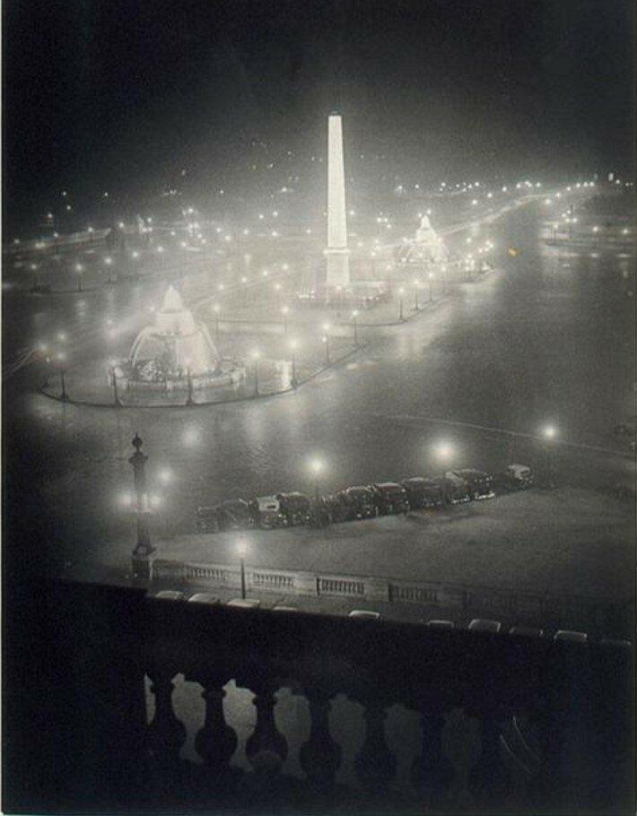 1931. Вид с террасы на площадь Согласия