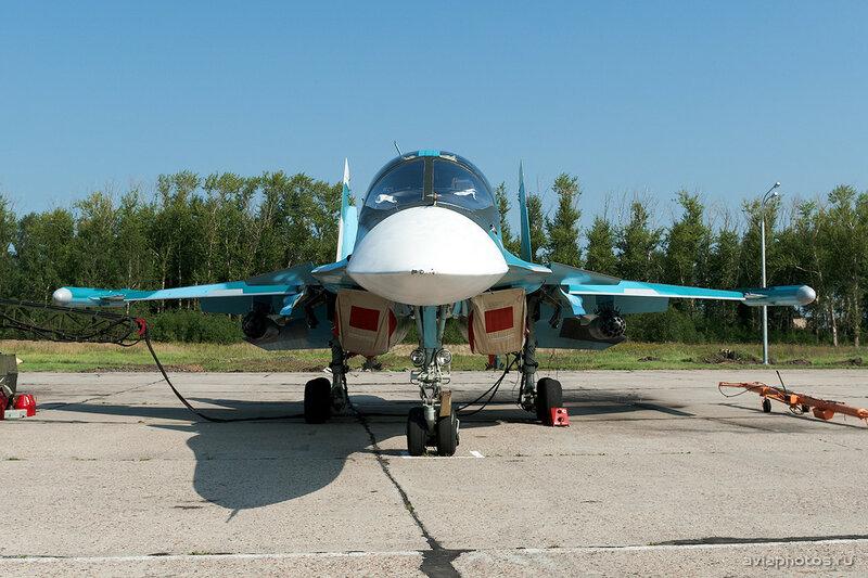 Сухой Су-34 (RF-95857 / 42 красный) ВКС России 1680_D703483