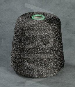15012-Sky, шелк, коричневый джинс