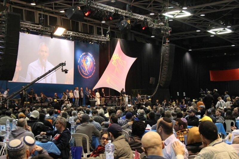Слет каббалистов в Тель-Авиве: 8 000 человек из 70 стран - и все за Израиль