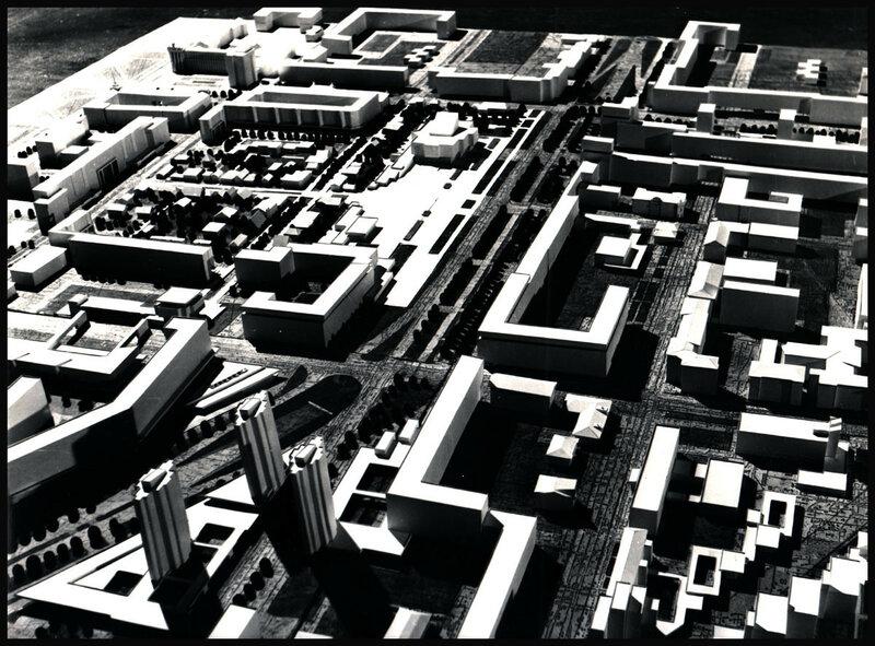 Проект планировки района Ленинского мемориала