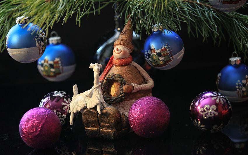 Новый год Ёлочные игрушки