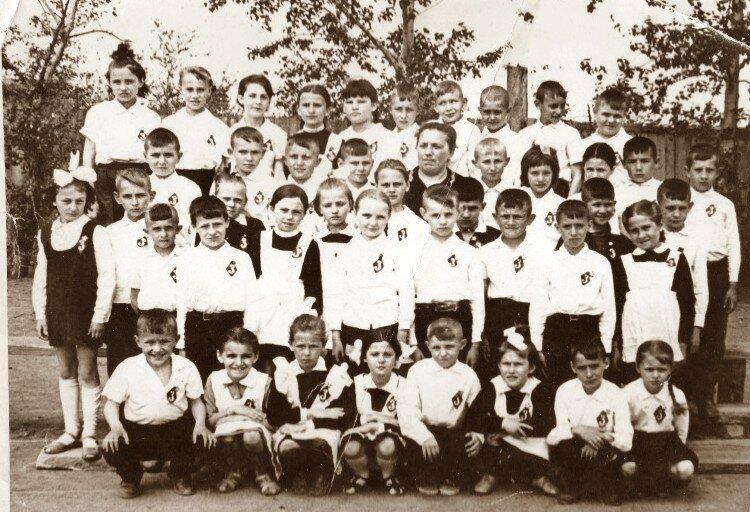 Славгород, школа №13, 1970 год.