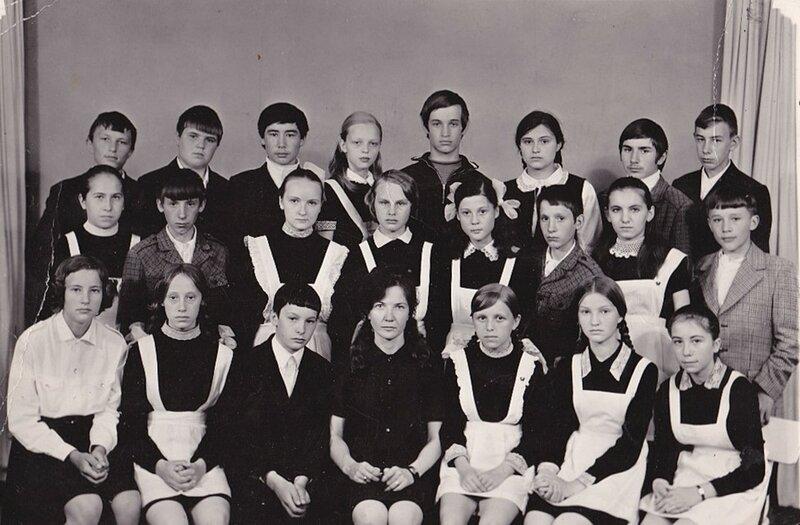 Славгород, школа №13, 1975 год.