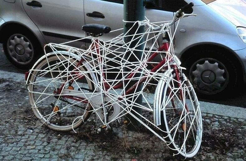 0 1e883e d8535631 XL Доказательства тяжелой жизни велосипедистов в городе: фото и видео