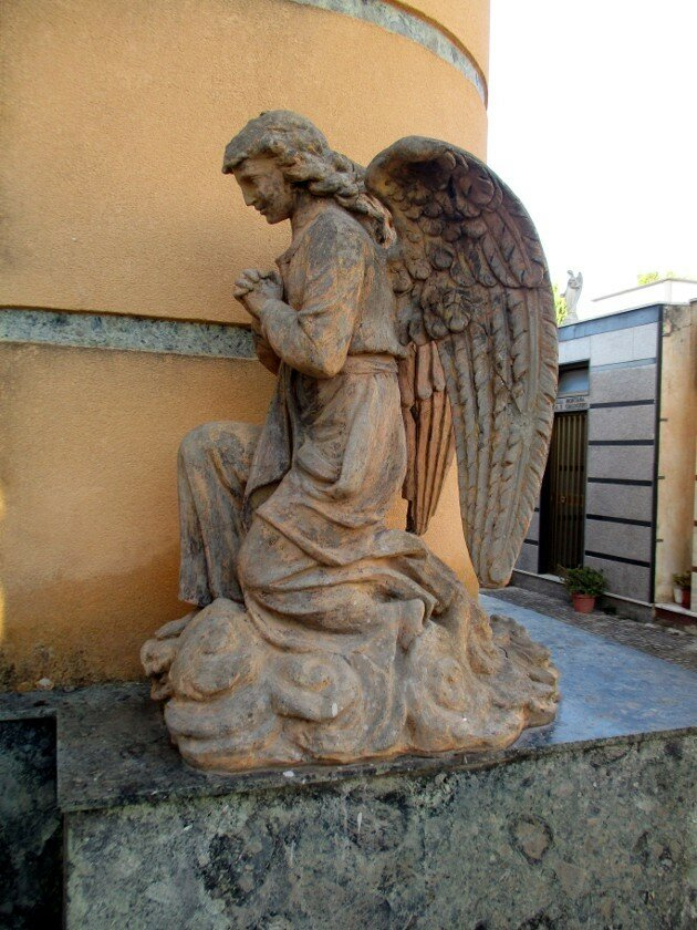 Agrigento. Bonamine cemetery (Cimitero di Bonamorone)