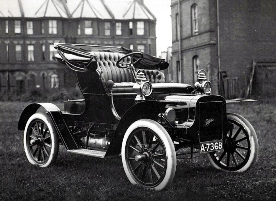7. Cadillac Model A Runabout (1902) Первый легковой