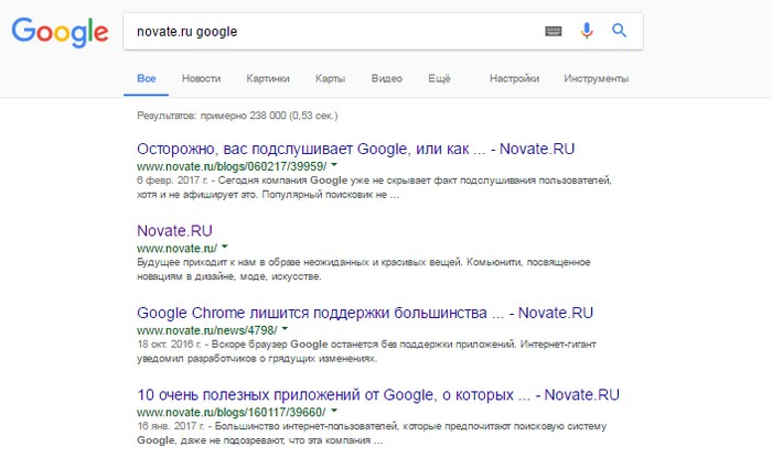 Родной поисковый движок на многих сайтах далёк от совершенства. Чтобы быстрее найти интересующую ста