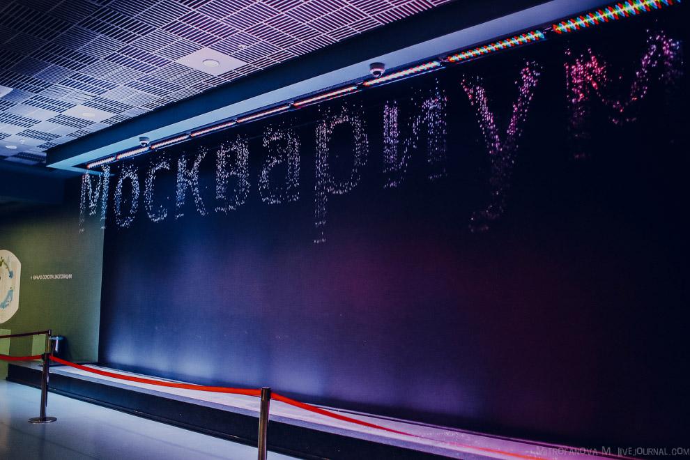 28. Огромное здание Москвариума на ВДНХ, но почти всё пространство занимает зрительный зал для