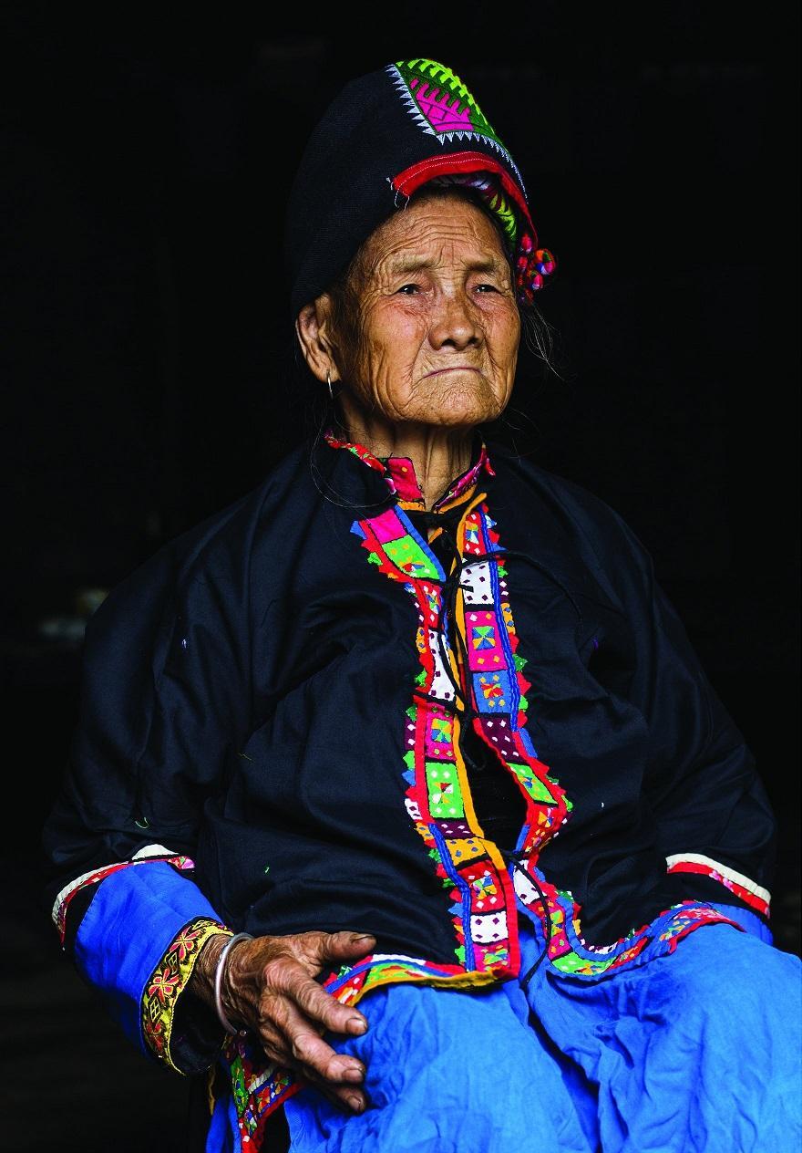 23. Потрет жительницы Донг Ван.