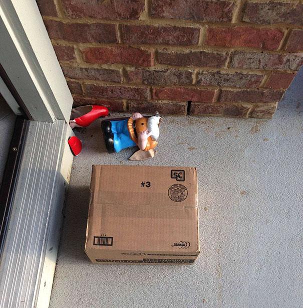 У курьеров UPS просто нет сердца.