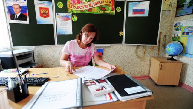 Зарплаты севастопольских учителей привели всоответствие суказом Путина