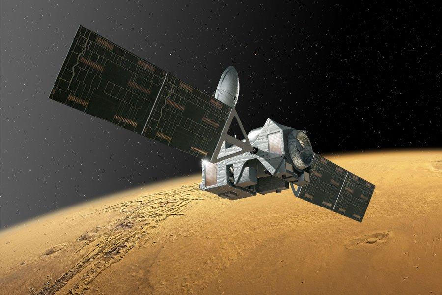 Орбитальный модуль «ЭкзоМарса» приступил кторможению ватмосфере Марса