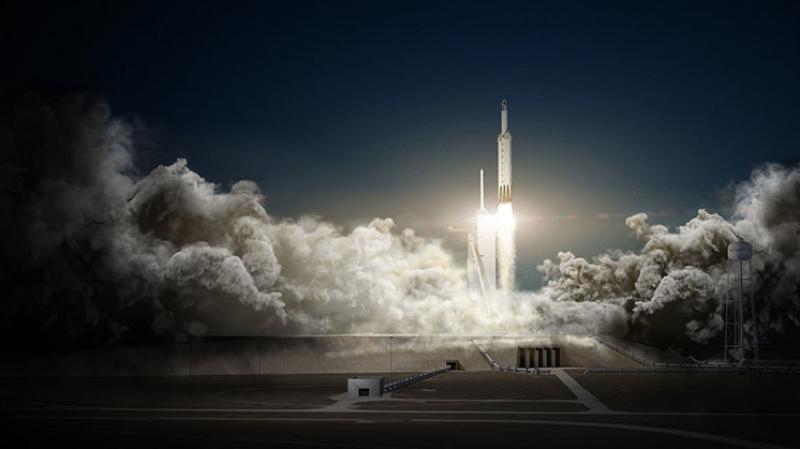 SpaceX повторно запустила первую ступень ракеты Falcon 9 соспутником связи
