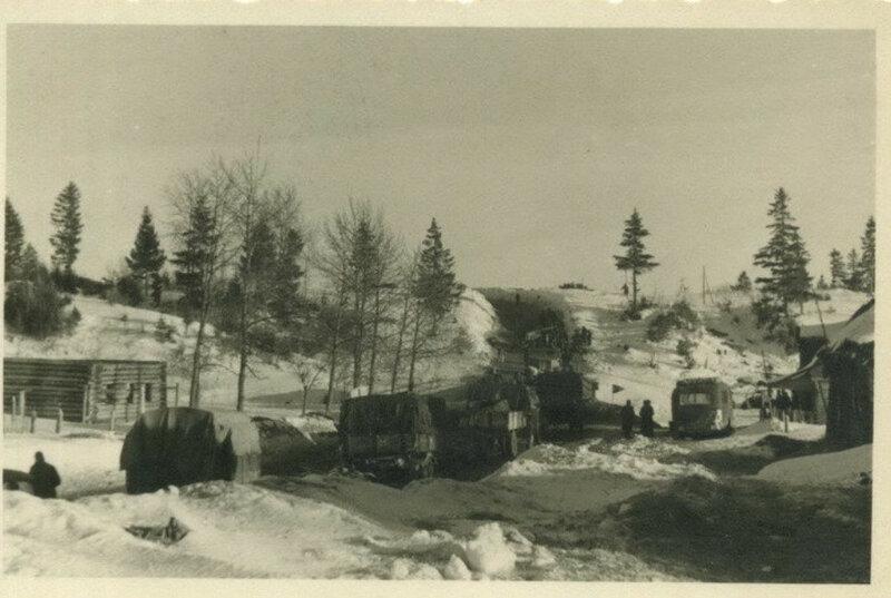 «Дорога жизни» в районе Волхова 1942-1943 гг.