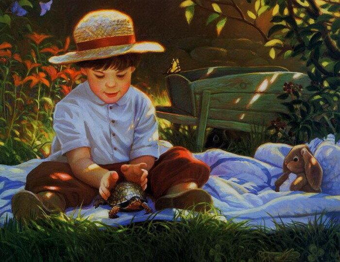 Донна Грин: красивые «детские» иллюстрации