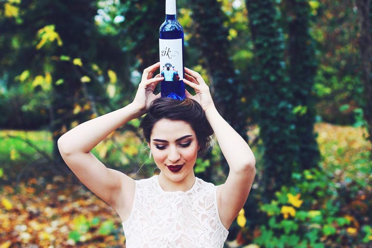 Gik Blue Wine - An intriguing blue wine arrives in Europe