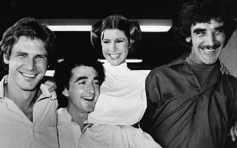 Unique and Rare Star Wars Pictures in Hommage to Carrie Fisher (25 pics)