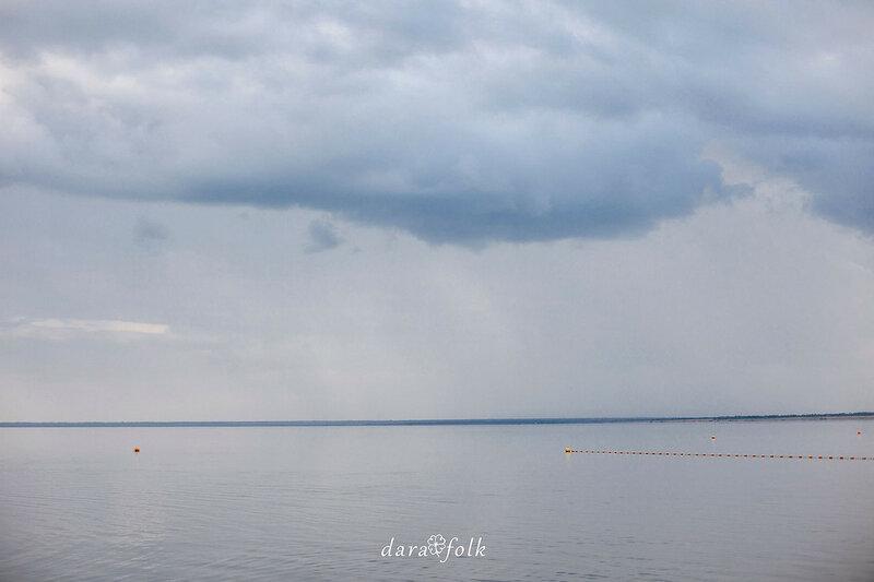 Яровое - солёное озеро Алтая.