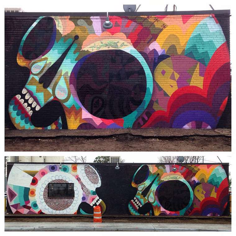 Jaime Molina - Beautiful creations between street art and sculpture