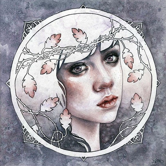 Creative Drawings by Kelly McKernan (25 pics)
