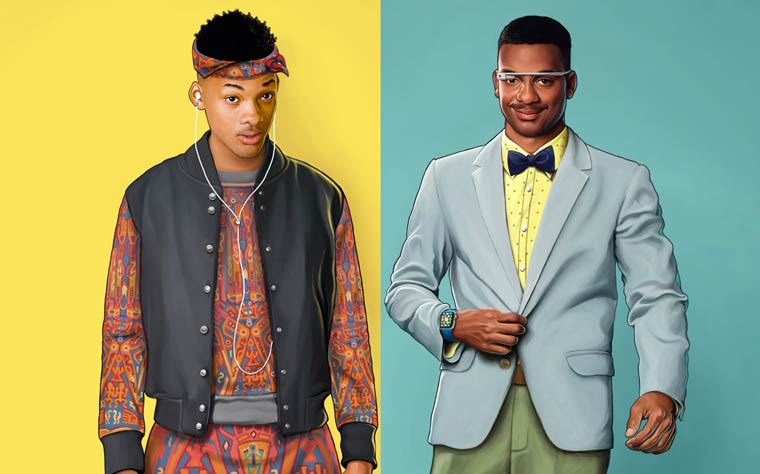 The Fresh Prince of Bel-Air in 2015 – What would look like the characters today (7 pics)