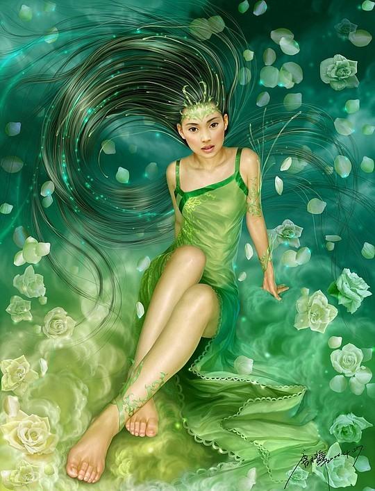 Amazing Digital Portraits by Yuehui Tang