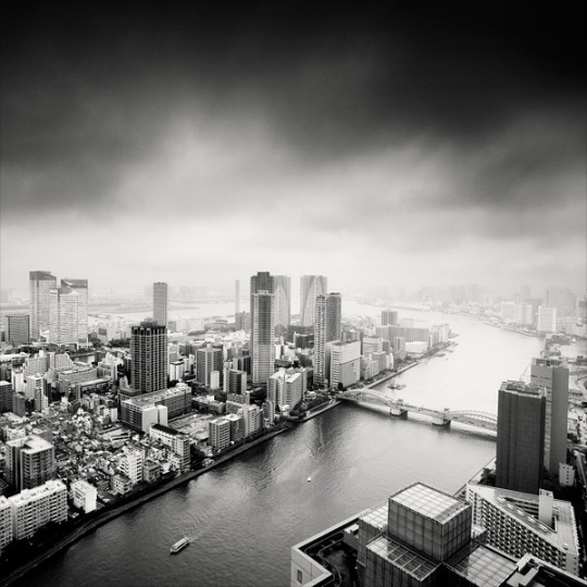 Black and White Cityscapes by Martin Stavars