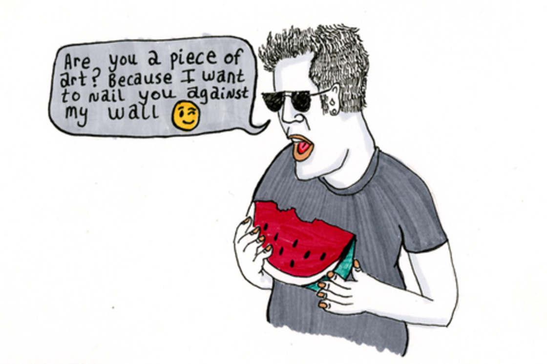 Tinder Nightmares – Elle illustre ses pires conversations Tinder (18 pics)