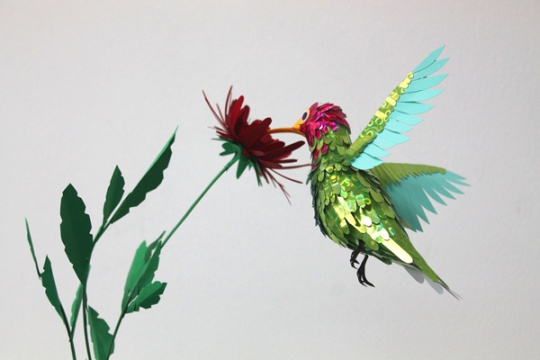 Brilliant Paper Sculptures by Ppiinnee