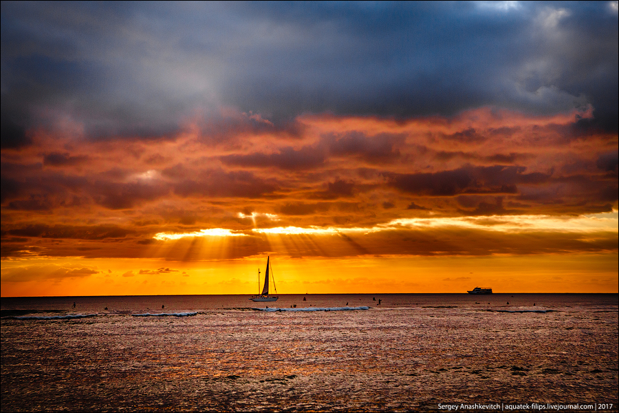 Один гавайский закат