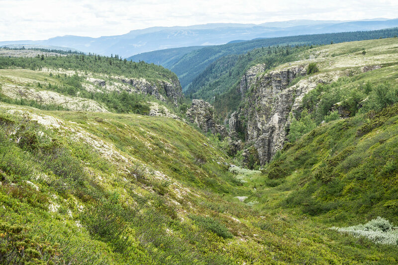 каньон реки Дёра (Døra)