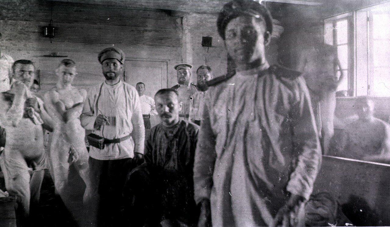 Русские солдаты в бане