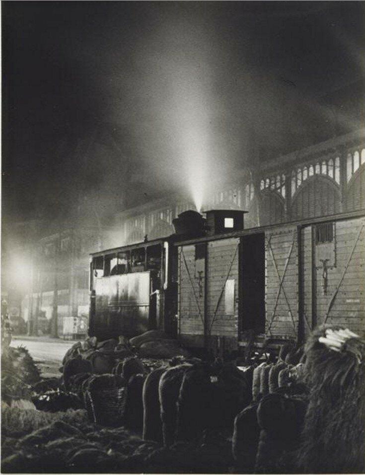 1931. Узкоколейка в Ле-Аль