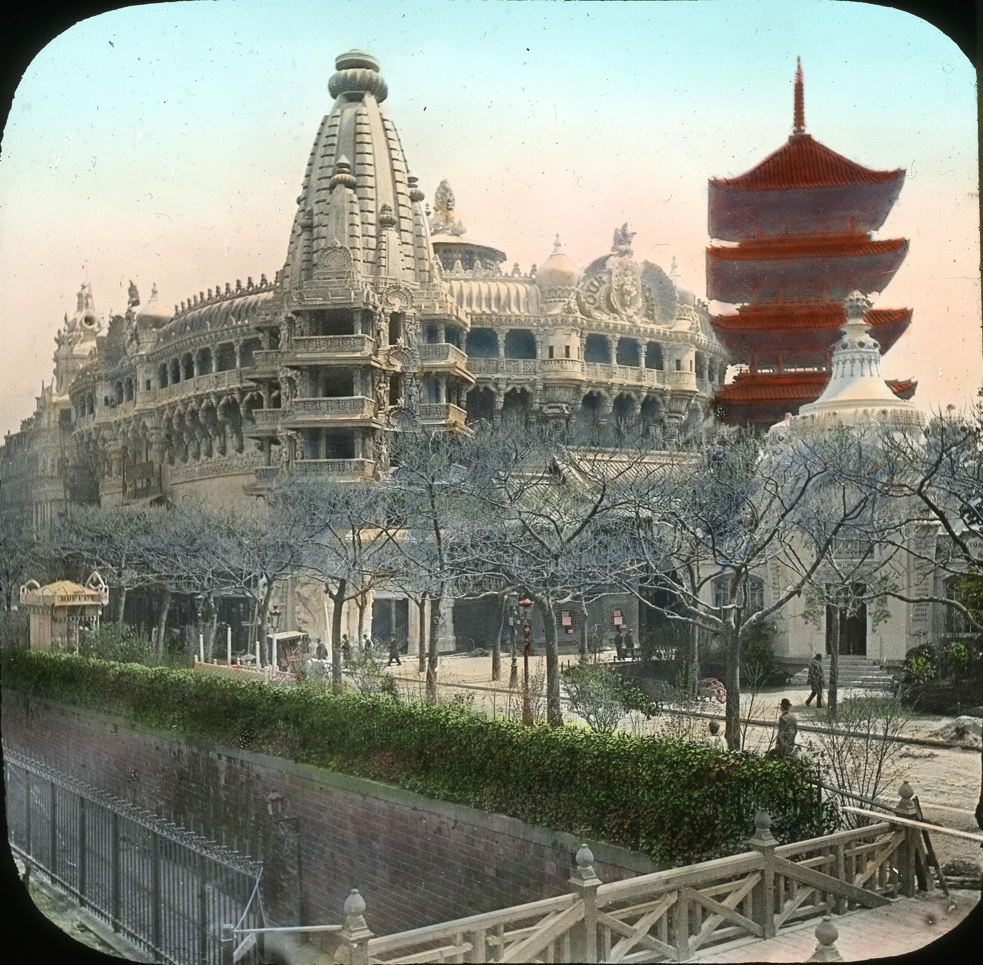 Павильон Сиама. Пагода