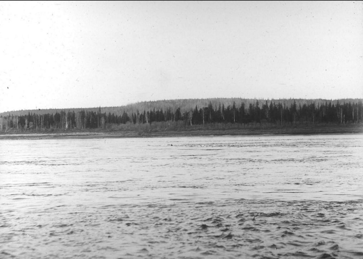 18 сентября 1914. Общий вид на остров Осиновский порог