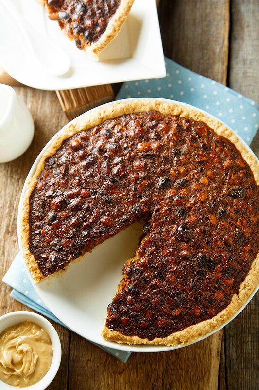 Пирог с арахисом и кайенским перцем из Северной Калифорнии.