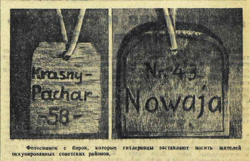 немецкая оккупация, оккупация 1942, оккупация СССР