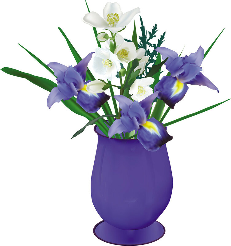 iris-blue-flower-wt-jasmin-vase-bunch-r