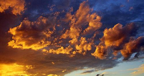 Золочёные облака