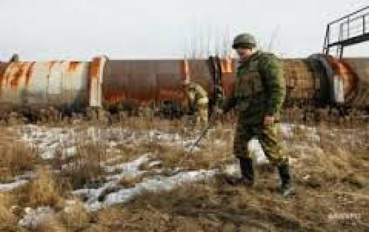 За прошедшие сутки боевики 46 раз открывали огонь по позициям ВСУ, применяя бронетехнику, 152- и 122-мм артиллерию, - штаб